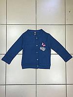 Детская Кофта на пуговицах для девочек  р.2-3 и 4-5лет