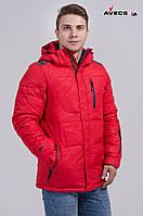 Куртка мужская Avecs AV-8069 Red Авекс Размеры M (48) L (50) XL (52)