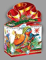 Упаковка праздничная новогодняя из картона Полубант, 500гр