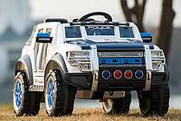 Электромобиль J1601 синий р/у, аккум., 12V7AH, 2*30W в кор.120*68*58см