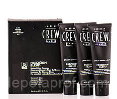 Краска для волос 2-3 уровень American Crew Precision Blend Dark 3х40 ml