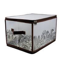 Handy Home Коробка для хранения Handy Home на молнии коричневая, L