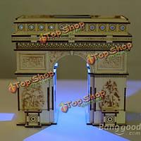 Сделай сам 3д пазл солнечная деревянные игрушки развивающие игрушки собрать Триумфальная арка