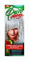 Стойкая крем-краска для волос Фито линия № 33 Пепельный