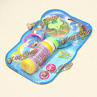 Машина пузыря ручного вентилятора пистолет мыльных пузырей для детей подарок