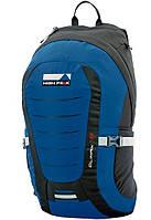 Функциональный рюкзак для города и путешествий High Peak Climax 18 (Blue/Dark gray) 923014 голубой/серый