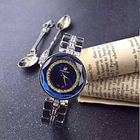 Часы женские Swarovski brand, синий циферблат,№103