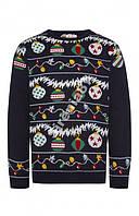 Новогодний теплый свитер №50