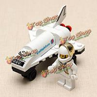 Просветите мини космический челнок космического корабля самолет развивающие игрушки подарок для детей