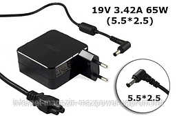 Блок живлення Оригінальний для ноутбука Asus 19V 3.42 A 65W (5.5*2.5) ADP-65AW A, PA-1650-93, ADP-65WH