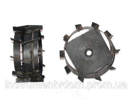 Грунтозацепы 400 мм со смещенным центром (2 шт)