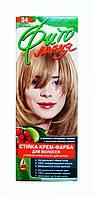 Стойкая крем-краска для волос Фито линия № 34 Светло-русый