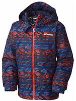 Зимняя удлинённая куртка Columbia Omni-Heat с системой роста