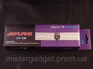 Антенна автомобильная Alpine DT-06. Активная антенна для ФМ и ТВ!
