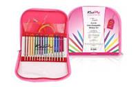 50618 Набор съемных акриловых спиц Multi-Colored Deluxe Spectra Flair Acrylic KnitPro