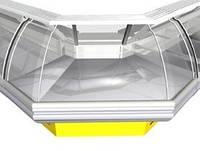 Холодильная витрина угловая РОСС Sorrento УН-1,1
