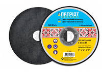 Отрезные диски по металлу Патриот ø115х1,0х22мм (17-100) шт.