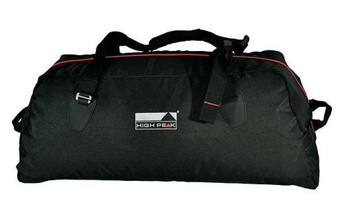 Прочная дорожная сумка-трансформер High Peak Cosmos 50S (Black) 923022 черный