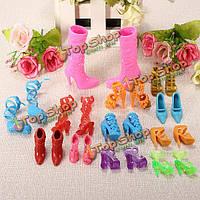 Обувь для куклы Барби 12 пар