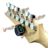 JOYO JT-306 мини-цифровой гитарный тюнер хроматический тюнер гитара бас