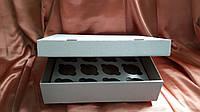 Коробка для кексов(на 12 шт) 330х255х80