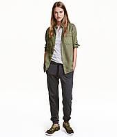 Серые спортивные штаны H&M