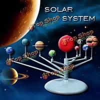 Мило солнечный свет Солнечная система небесных тел планет модели DIY игрушки