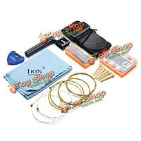 Аксессуары гитары irin 9 PC для акустической электрической деревянной гитары