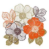 Glozis Виниловая Наклейка Glozis Bouquet