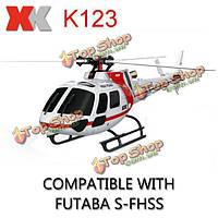 РУ вертолет XK k123 6ch безщеточный 1:350 3D 6g системы