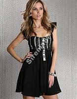 Шикарное коктейльное кружевное платье №89