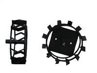 Грунтозацепы 340 мм мотокультиваторные для Pubert, MTD, Zirka 75 и аналогов (2 шт)