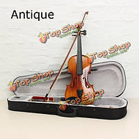 Astonvilla av03 4/4 глянцевый имитация черного дерева ели акустической скрипки
