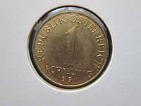1 шиллинг Австрия 1991