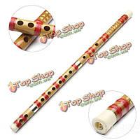 Китайский музыкальный инструмент г ключ бамбуковая флейта с мягкой сумке для начинающих