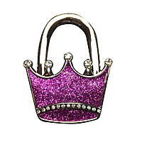 Держатель для сумки сумочки корона розовая 1 шт
