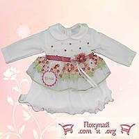 Детское платье для маленьких красавиц Размер: 12-18-24 месяца (4684)