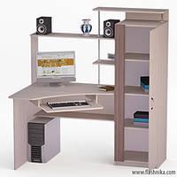 Компьютерный стол LED 67 1400х900х1550
