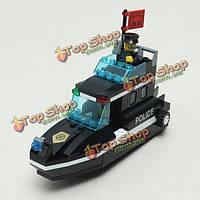 Просветите спецназа специальных полицейских катере по сборке головоломки образовательные игрушки