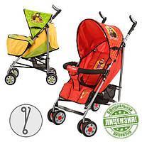 Детская коляска-трость Маша и Медведь MM 0065-2R (Красная)