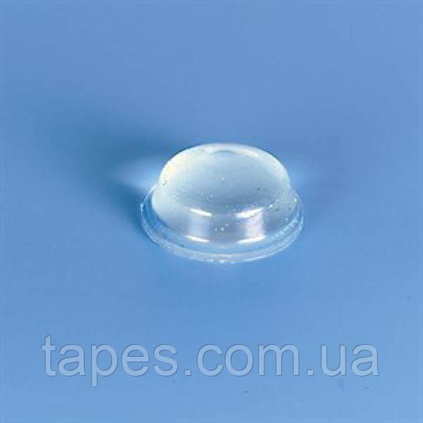 Полусферический полиуретановый бампер BS-2 (11,1мм х 5,1мм) прозрачный, Bumper Specialties Inc. 100 шт.