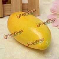 Реалистичное манго реалистичные пены моделирования поддельные фрукты дисплей игрушки