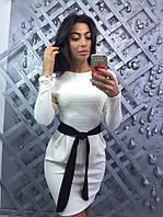 Жеское элегантное платье-футляр (3 цвета)