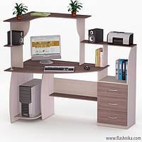 Компьютерный стол LED 7 1355х800х1266