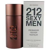 Тестер без крышечки духи мужские  Carolina Herrera 212 Sexy Men (Каролина Эррера 212 секси мэн), фото 1