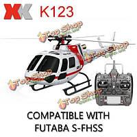 РУ вертолет XK k123 6ch с пультом управления RTF