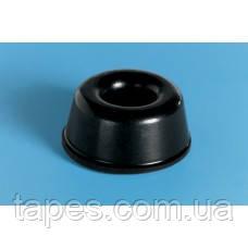 Бампер с углублением BS-17 (22,3мм х 10,2мм) черный, Bumper Specialties Inc.