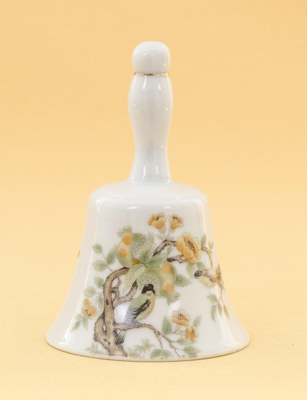 Винтажный коллекционный колокольчик, фарфор, Япония?
