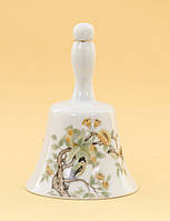 Винтажный коллекционный колокольчик, фарфор, Япония?, фото 1