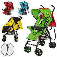 Детская прогулочная коляска Bambi M 1701-1Y (Желтая)